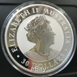 1 KILO Silver KOOKABURRA Perth Mint. 9999 Fine Silver (2019 Australia $30)