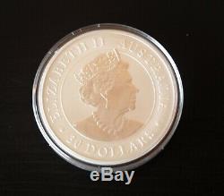 1 Kilo 2020 Silver Australian Koala Coin BU withplastic capsule