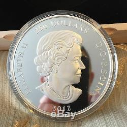 1 Kilo Fine Silver Coins Maple Leaf Forever Mintage 500 (2016), 1200 (2012)