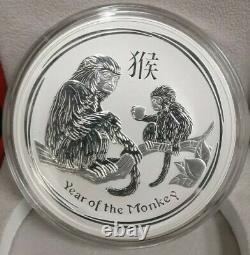 1 Kilo Silver Coin x 12-year cycles Chinese zodiac. 386 oz 0.999 fine Silver