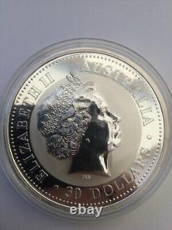 1 Kilo Silver Perth Mint Kookaburra 2000