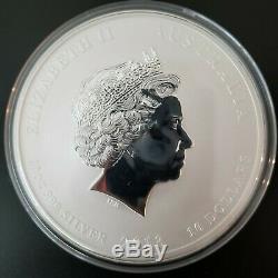 1 kg 1 kilo 2013 Perth Mint Lunar Year of the Snake Silver Coin BU