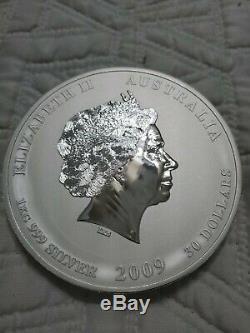 1 kg kilo 2009 Lunar Year of the Ox. 999 Silver Coin Lunar Series