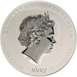 1 kg kilo 2012 Lunar Year of the Dragon Silver Coin