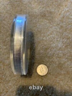 1 kg kilo 2015 Perth Mint Lunar Year of the Goat Silver Coin BU In Capsule 32 Oz