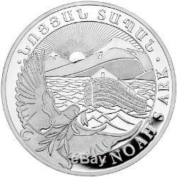 1 kg kilo 2019 Armenian Noah's Ark Silver Coin