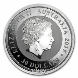 1 kilo Australian Silver Kookaburra BU (Random Year) SKU#224509