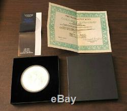 1992 1 Kilo. 999 Fine Silver Australian Kookaburra Coin, by Washington Mint