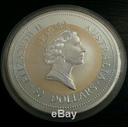 1994 kookaburra silver bullion coin 1 kilo kg 10 oz 2 oz 1 oz Perthmint 999