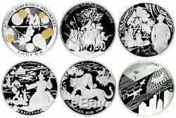 1995-2018 Russia BIG Collection of Rare 1 kilo kg 62 Silver Coins NGC 68-70 RARE