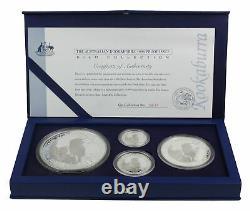 1996 Australia Silver Kookaburra Proof Coin Kilo Collection with Case & COA