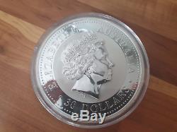 1kg Silber Münze Kookaburra 2008 (entspricht 35,28 Unzen) Bullion oz Kilo Barren