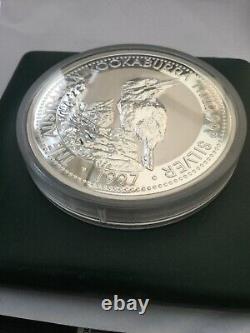 1kilo Silver Kookaburra 1997