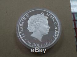 2000 Australia Sydney Olympic Games $30 Dollar Silver Proof Kilo Coin