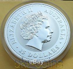 2004 Australia Lunar I Year of the Monkey 1/2 Kilo Kg Silver Coin $15 Perth Mint