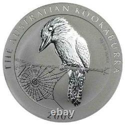2008 Australian Silver Kookaburra 1 Kilo Coin Perth Mint