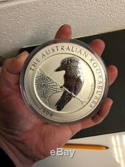 2008 Kookaburra 1kg Kilo Silver