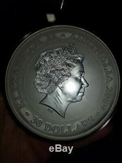 2009 1 Kilo Perth Mint Koala. 999 Silver Coin