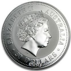 2009 Australia 1 kilo Silver Kookaburra BU SKU #43877