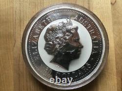 2009 Australian Kookaburra Kilo 999 fine silver coin