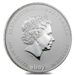 2009 Year of the Ox Australia Kilo coin 32.15 oz. 999 Silver