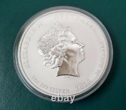 2010 1 Kilo Silver Australia Lunar Year Of The Tiger BU