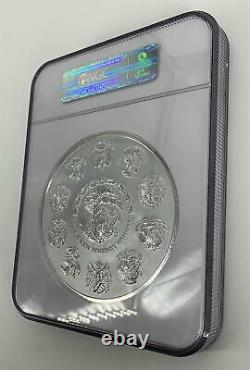 2010 Mexico NGC PF69 UCAM Proof 1 Kilo. 999 Silver Libertad Coin Aztec