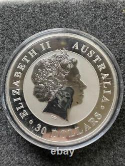 2011 1 kilo 999 silver kookaburra