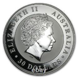 2011 Australia 1 kilo Silver Kookaburra BU SKU #59007