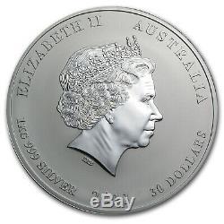 2011 Australia 1 kilo Silver Year of the Rabbit BU SKU #59010