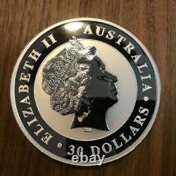 2011 Australian Silver Kookaburra 1 KILO 2 pounds 32.15 ounces MINT With CAPSULE