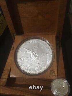 2011 Libertad 1Kilo. 999 Fine Silver Coin FREE1 Oz Britannia 2020.999 Silver