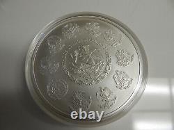 2011 Libertad KILO. 999 pure plata Mexico. BU condition in capsule