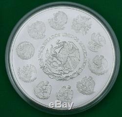 2011 Mexico 1Kg Ley. 999 Plata Pura Mexican Kilo Libertad Silver Coin