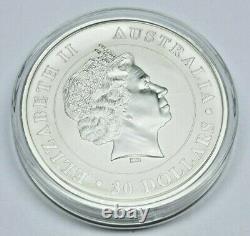 2011 P Australia 1 Kilo 32.15 Troy oz. 999 Silver Koala $30 In Mint Capsule