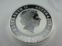 2011 Silver KOOKABURRA KILO specimen. Exceptional Perth Mint large coin series