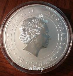 2012 1 Kilo Koala Bear Silver Coin. 999