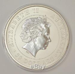 2012 Australia $30 Koala 1 Kilo. 999 Silver Coin
