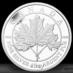 2012 Canada Maple Leaf Forever Proof Silver Kilo Coin. 9999 Pure