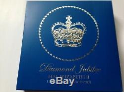 2012 Her Majesty Queen Elizabeth II Diamond Jubilee 1 Kilo Silver Proof Coin