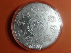 2012 Mexico 1 kilo Silver Libertad BU (In Capsule)