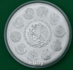 2012 Mexico 1Kg Ley. 999 Plata Pura Mexican Kilo Libertad Silver Coin
