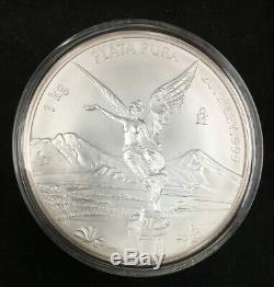 2012 Mexico 1Kg Ley. 999 Plata Pura Mexican Kilo Libertad Silver Coin Q1K79