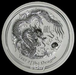 2012 P SILVER AUSTRALIA 32.15ozs Kg $30 KILO YEAR OF THE DRAGON COIN