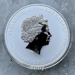 2012 Year of the Dragon Australia Kilo coin 32.15 oz. 999 Silver