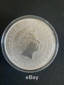 2013 Australia 1 Kilo (32.15 troy oz). 999 Silver Koala $30 Coin Perth Mint BU