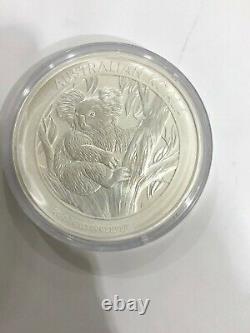 2013 Australia 1 kilo Silver Koala BU original clastic cap gem gem see pics