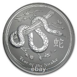 2013 Australia 1 kilo Silver Year of the Snake BU SKU #71335