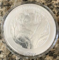2013 Australian Koala $30 Dollars 1 Kilo. 999 Silver Incase Brand New