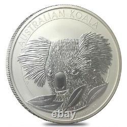 2014 1 Kilo Silver Australian Koala Perth Mint. 999 Fine BU In Cap